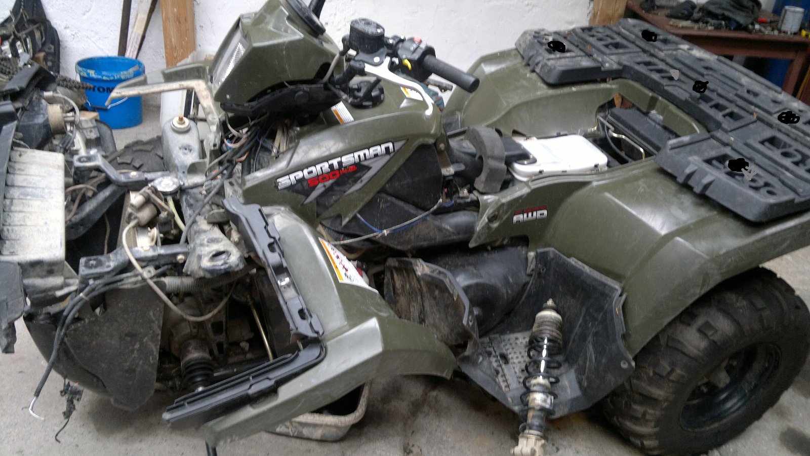 Polaris Sportsman 500HO 2008